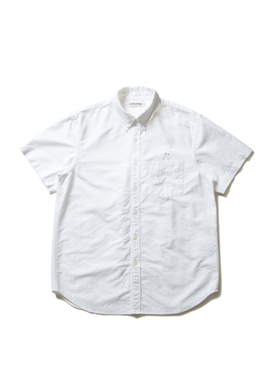 07c91bdd42857 COOTIE   Oxford S S Button Down Shirt (KUNG-FU) □MATERIAL COTTON 100%  □COLOR OFF-WHITE