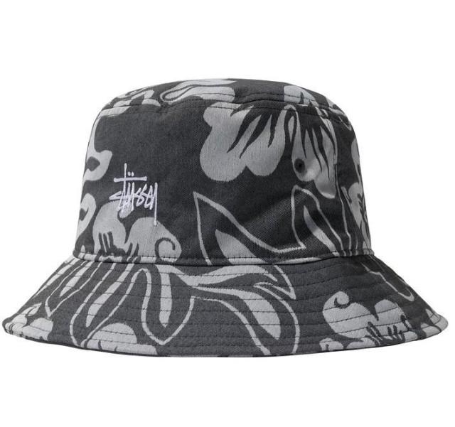 NYLON HAWAIIAN BUCKET HAT1